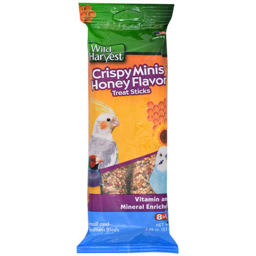 Wild Harvest: Crispy Honey Flavor Minis Treat Sticks, 2.96 Oz