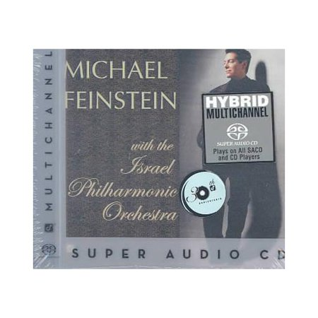 Full title: Michael Feinstein With The Israel Philharmonic Orchestra.This is a hybrid Super Audio CD playable on both regular and Super Audio CD players.Personnel includes: Michael Feinstein (vocals, piano); Alan Broadbent (arranger, conductor, piano);  Avishai Cohen (bass); Albie Berk (drums); The Israel Philharmonic Orchestra.Producers: Allen Sviridoff, Leslie Ann Jones.Recorded (Best Drum And Bass Set Ever)