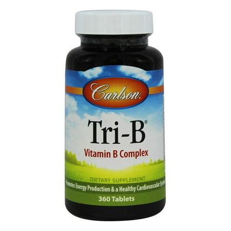 Carlson Labs - Tri B Homocysteine Formula - 360 Tablets