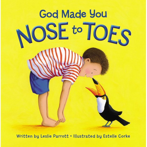 God Made You Nose to Toes - eBook