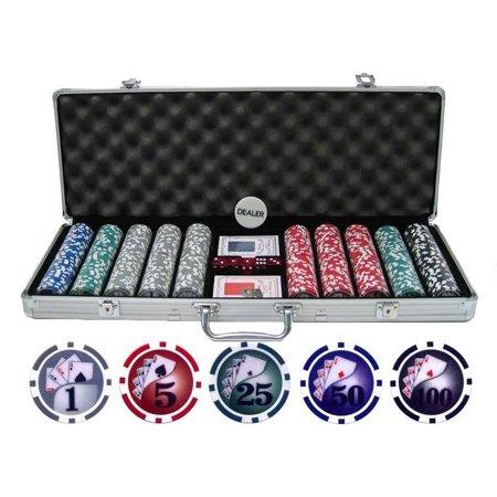 Yin Yang Clay Poker Chip Set
