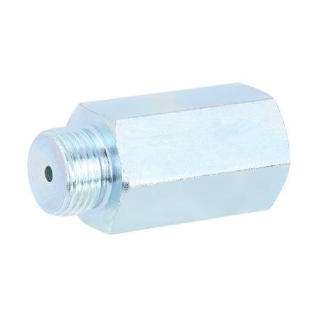 Stainless Steel Oxygen Sensor O2 Lambda Sensor Extender Spacer for Decat & Hydrogen M18 - image 1 of 7