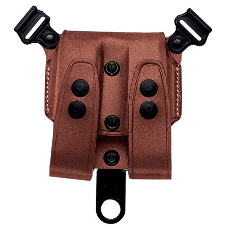 GALCO DOUBLE MAGAZINE CASE 1911 SHOULDER SYSTEM TAN