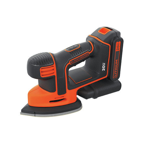 Black & Decker BDCDS20B 20V MAX Cordless Mouse Sander, Bare Tool by Stanley Black & Decker