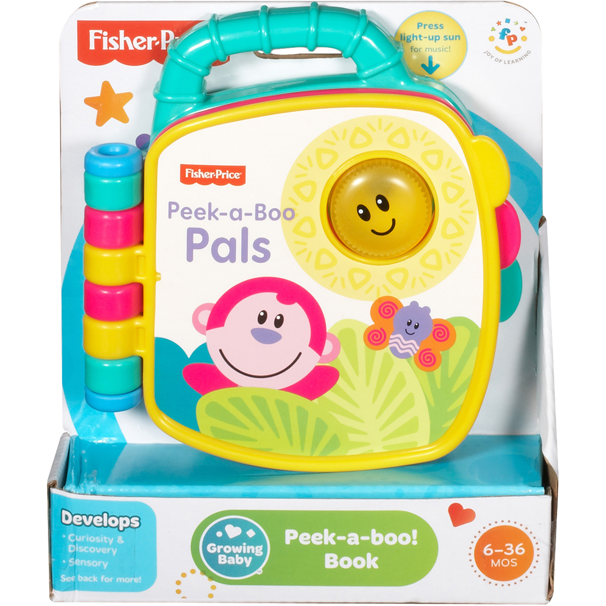 Fisher-Price Growing Baby Peek-a-Boo! Book