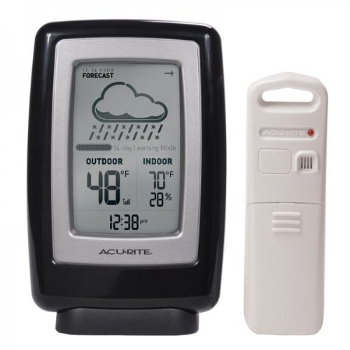 Acurite Digital Weather Station With Forecast / Temperature / Humidity / Clock 00838 - 165 Ft - Wall Mountable, Desktop (00838_2)
