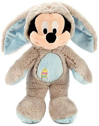 Disney Mickey Mouse Bunny Plush [Gray & Blue] by