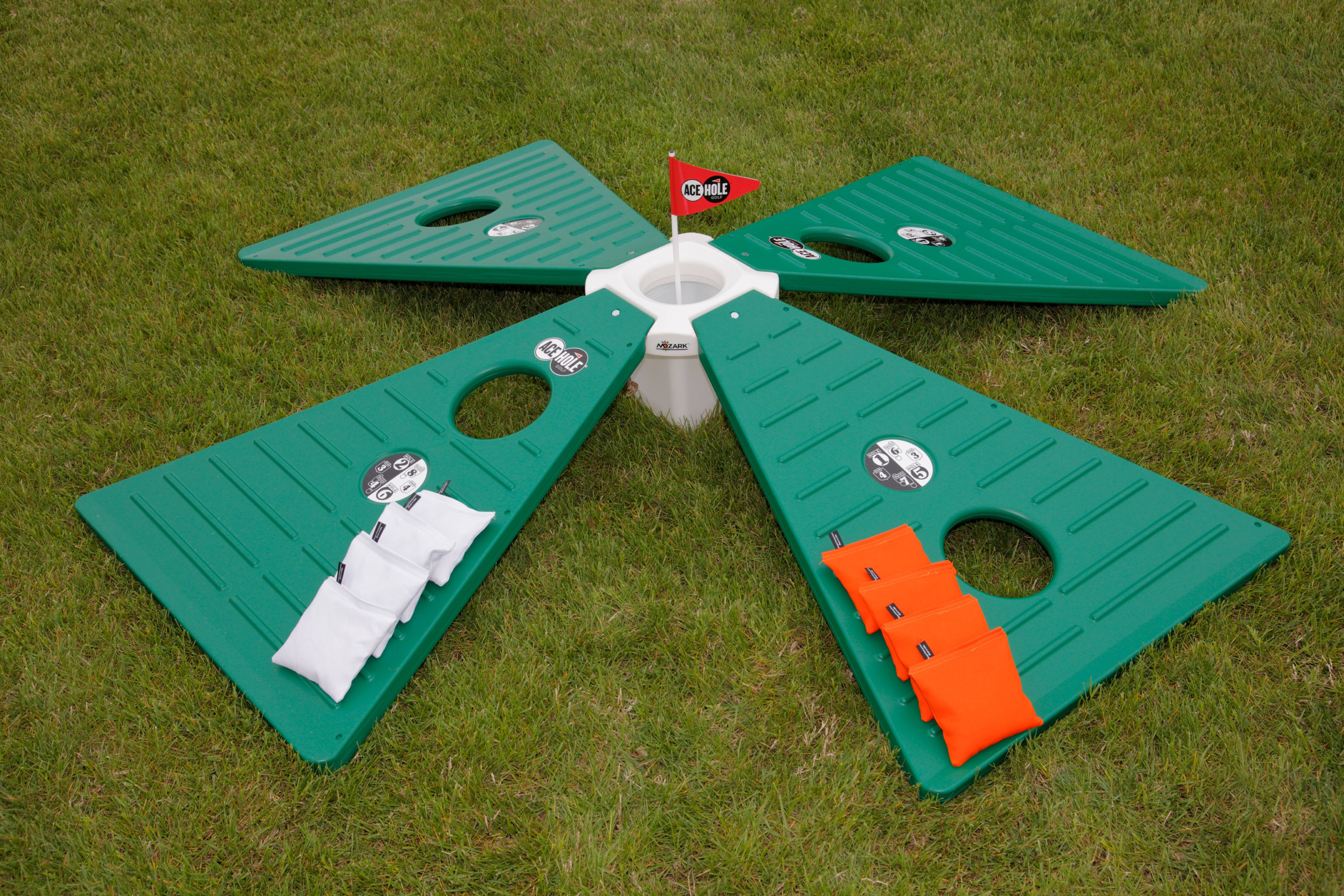 AceHole Golf Cornhole Game by American Furniture Classics