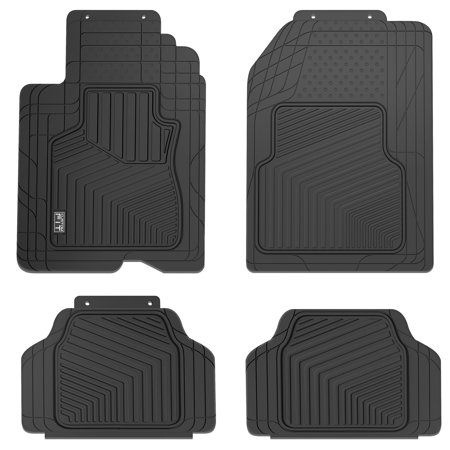 Custom Fit 4-Piece Heavy Duty All Weather Car Floor - Custom Fit Auto Accessories