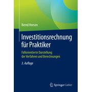 Investitionsrechnung f?r Praktiker - eBook