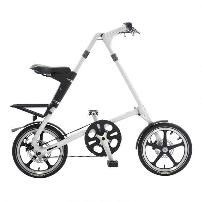 STRiDA LT White Folding Bicycle