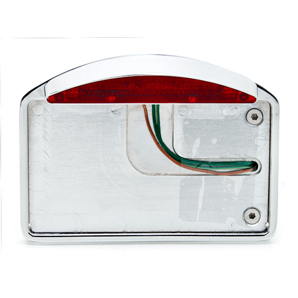 Side Mount License Plate LED Tail Brake Light For Honda VTX 1800 TYPE C R S N F T RETRO - image 5 of 7
