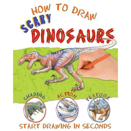 Scary Dinosaurs (How to Draw Scary Dinosaurs - eBook)
