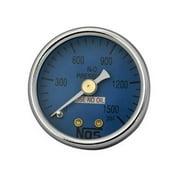NOS 15913 Nitrous Oxide Pressure Gauge - 1.5 In.