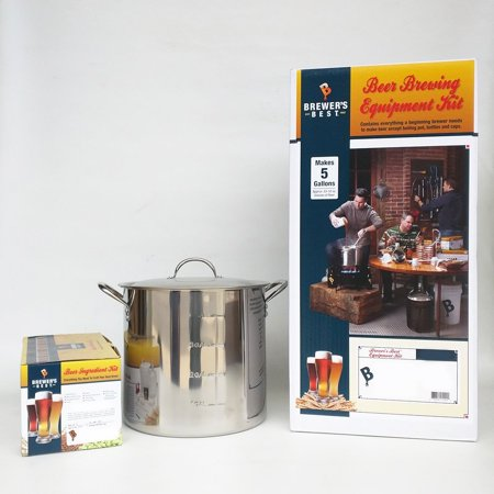 Brewer's Best Equipment Kit with American Amber Beer Ingredient Kit and 20