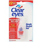 Clear Eyes Redness Relief Handy Pocket Pal .2 oz