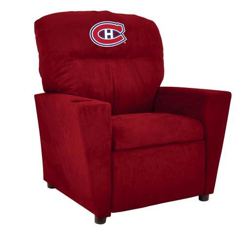 Imperial NHL Microfiber Kids Recliner - Montreal Canadiens