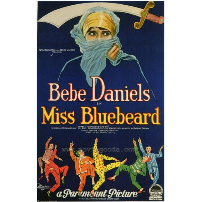 Posterazzi MOVCF4293 Miss Bluebeard Movie Poster - 27 x 40 in. - image 1 of 1