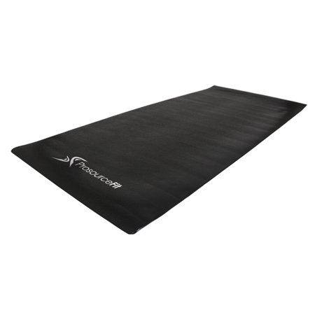 ProsourceFit Treadmill & Exercise Equipment Mats, Fold-to-Fit Folding & Regular Designs, High Density PVC Floor (Treadmill Floor Mats)