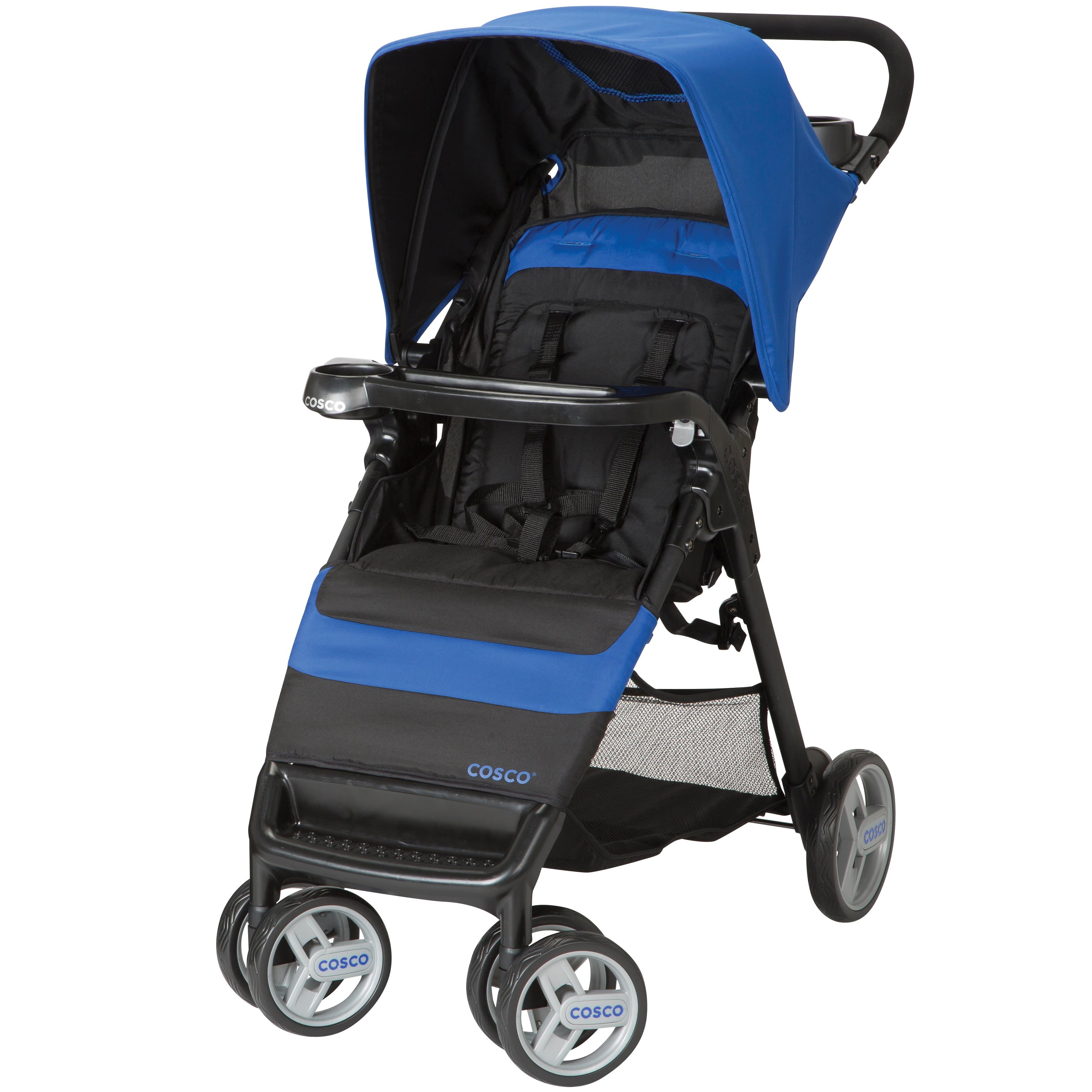 Cosco Simple Fold™ Stroller, Sapphire Sea