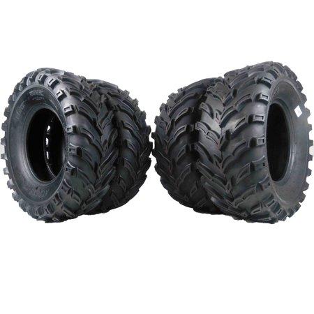 "MASSFX 26x9-12 26x11-12 ATV MS 4 SET FRONT & REAR TIRES 6PLY 1/2"" Tread Depth"