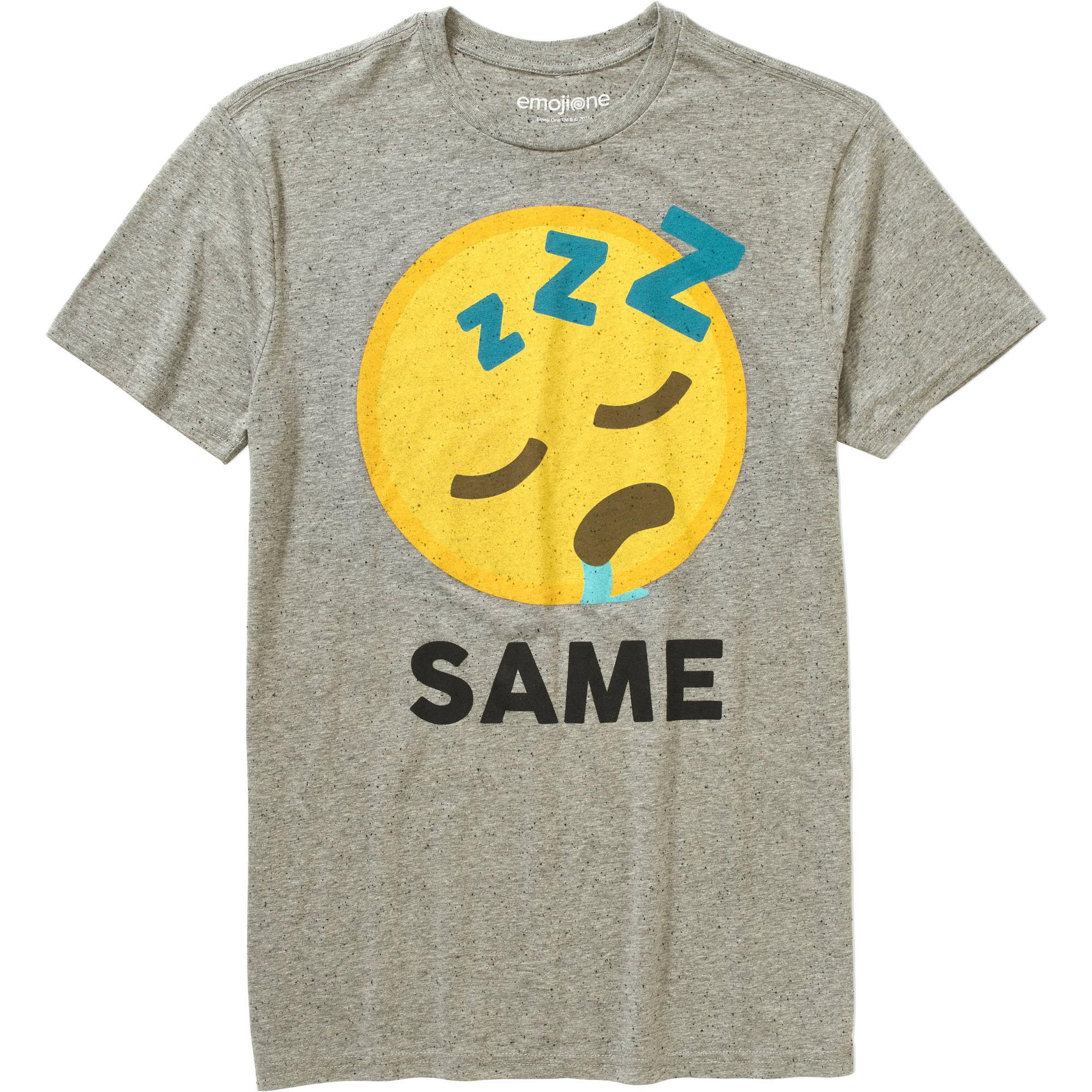 Emoji Same Big Men's Graphic Tee, 2XL