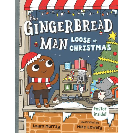 The Gingerbread Man Loose at Christmas](Gingerbread Man Crafts)