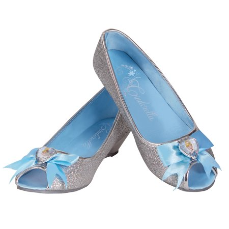 Disney Princess Cinderella Shoes Girls Child Costume Accessory Halloween