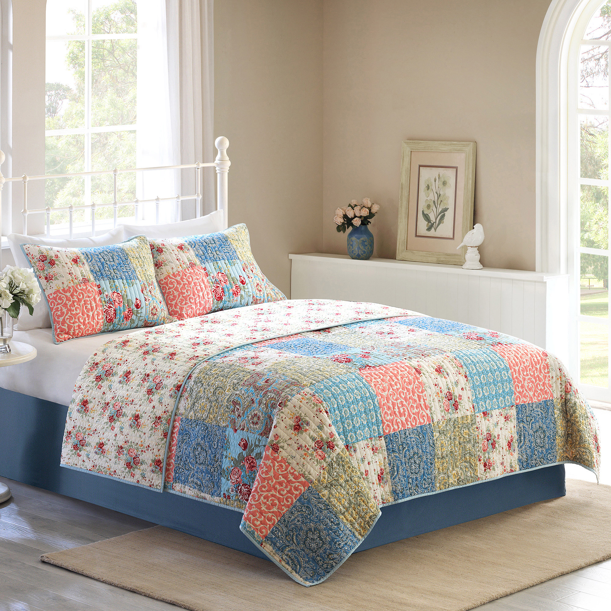 bedding and stars walmart super fashionable gardens com navy jeweled ideas set homes better quilts kids charming amazon cool wonderfull sets collection design quilt