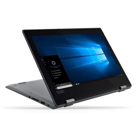 "Lenovo Flex 11 11 6"" 2 in 1 Laptop, Windows 10, Intel Celeron N4000  Dual-Core Processor, 4GB RAM, 64B eMMC Solid State Drive, Office 365 1 Year"