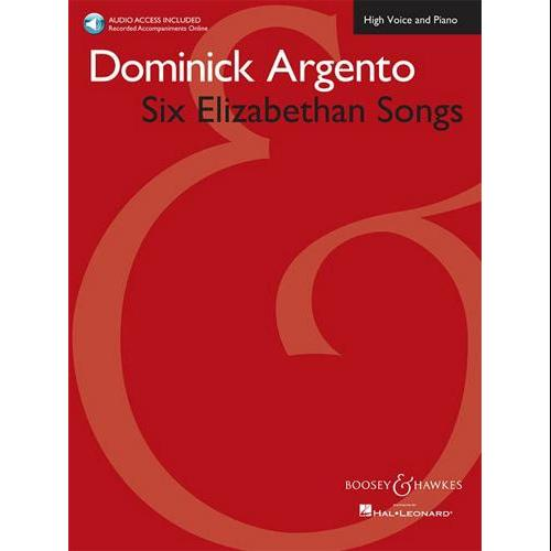 Hal Leonard Six Elizabethan Songs � High Voice � New Edition � With Online Accompaniments by