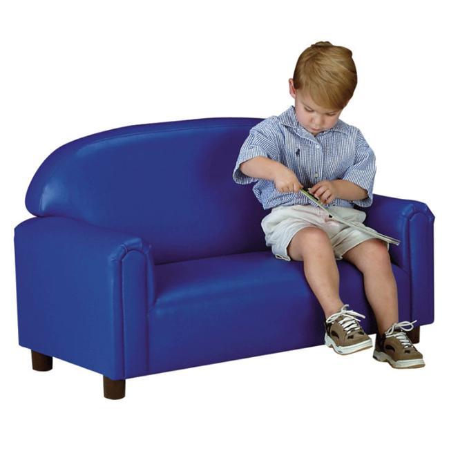 BNW FSVB100 Vinyl School Age Sofa - Blue