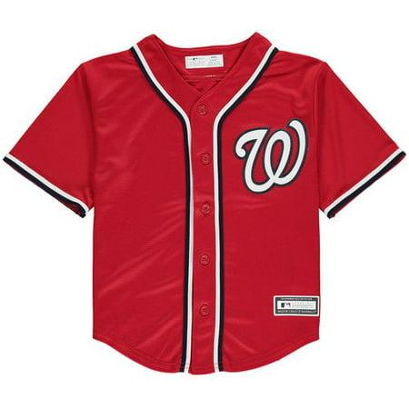 Washington Nationals Preschool Replica Team Jersey - - Washington Nationals Replica Stadium