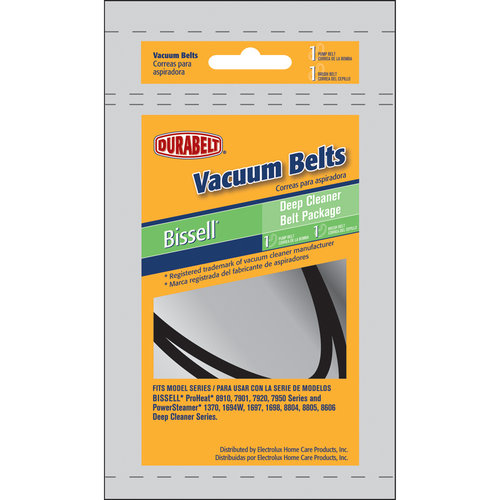 Durabelt Vacuum Belt, Bissell Deep Cleaner