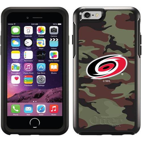 Carolina Hurricanes Traditional Camo Design on OtterBox Symmetry Series Case for Apple iPhone 6