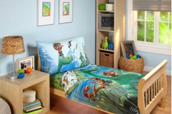 KidKraft 86938 Dinosaur Bed for Children and Toddlers with Wooden Frame