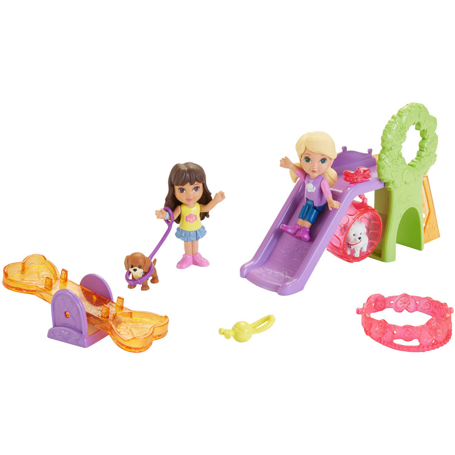 Nickelodeon Dora and Friends Doggie Park Friends Dora and Alana by Mattel, Inc.