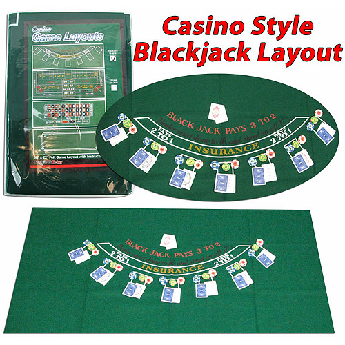 Trademark Poker Blackjack Layout