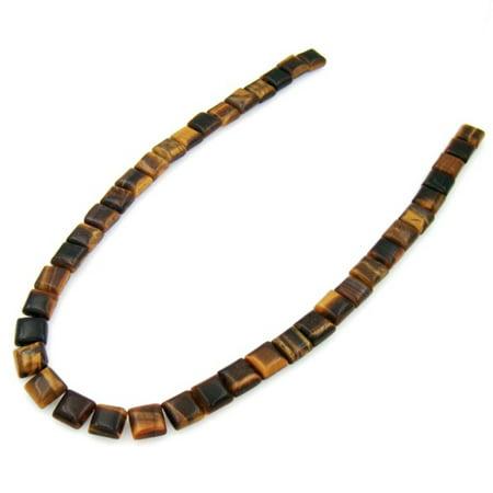 Tiger Eye Gemstone Beads - 16