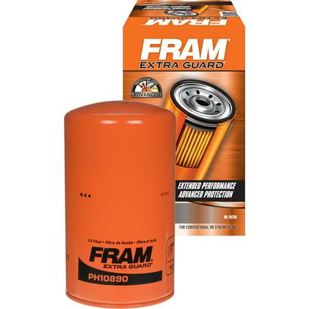 FRAM Extra Guard H.D. Oil Filter, PH10890 (Orange Gourd)