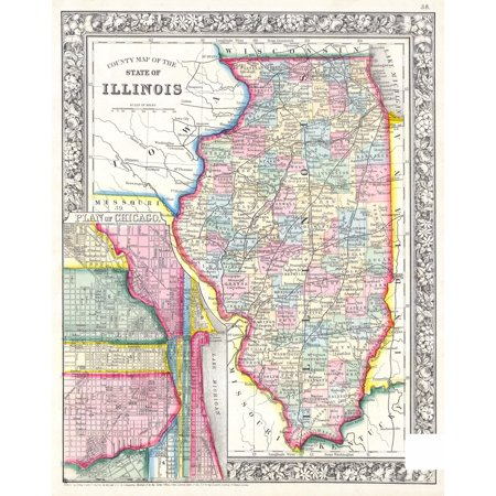 Laminated Map - Large detailed old administrative map of ... on map of berwyn illinois, map of dupage county illinois, map of warrenville illinois, map of st. louis mo and suburbs, map of florida, illinois biggest cities, map of idaho, map of granite city illinois, map of effingham county illinois, map of flora illinois, map of illinois counties, illinois map with all cities, map of kansas, illinois major cities, map of western illinois, map of illinois casinos, illinois county map with cities, map of massac county illinois, map of chicago, map of illinois states,
