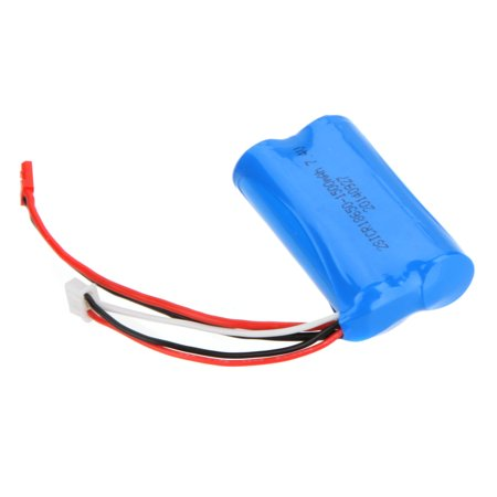 GoolRC 2Pcs 7.4V 1500mAh Rechargeable Li Battery for Double Horse 9118 MJX T23/F45 RC Helicopter Toys