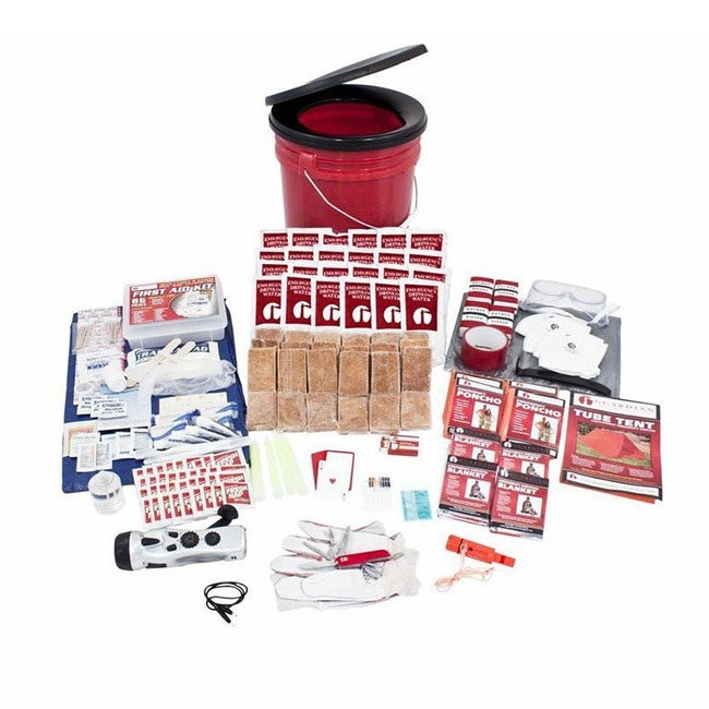 Guardian Survival Gear 4-person Bucket Survival Kit