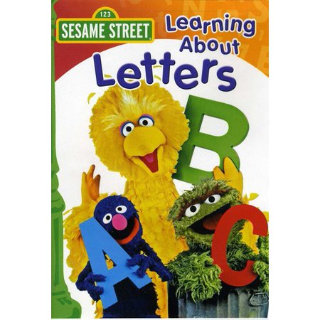 Sesame Street: Learning About Letters (DVD)