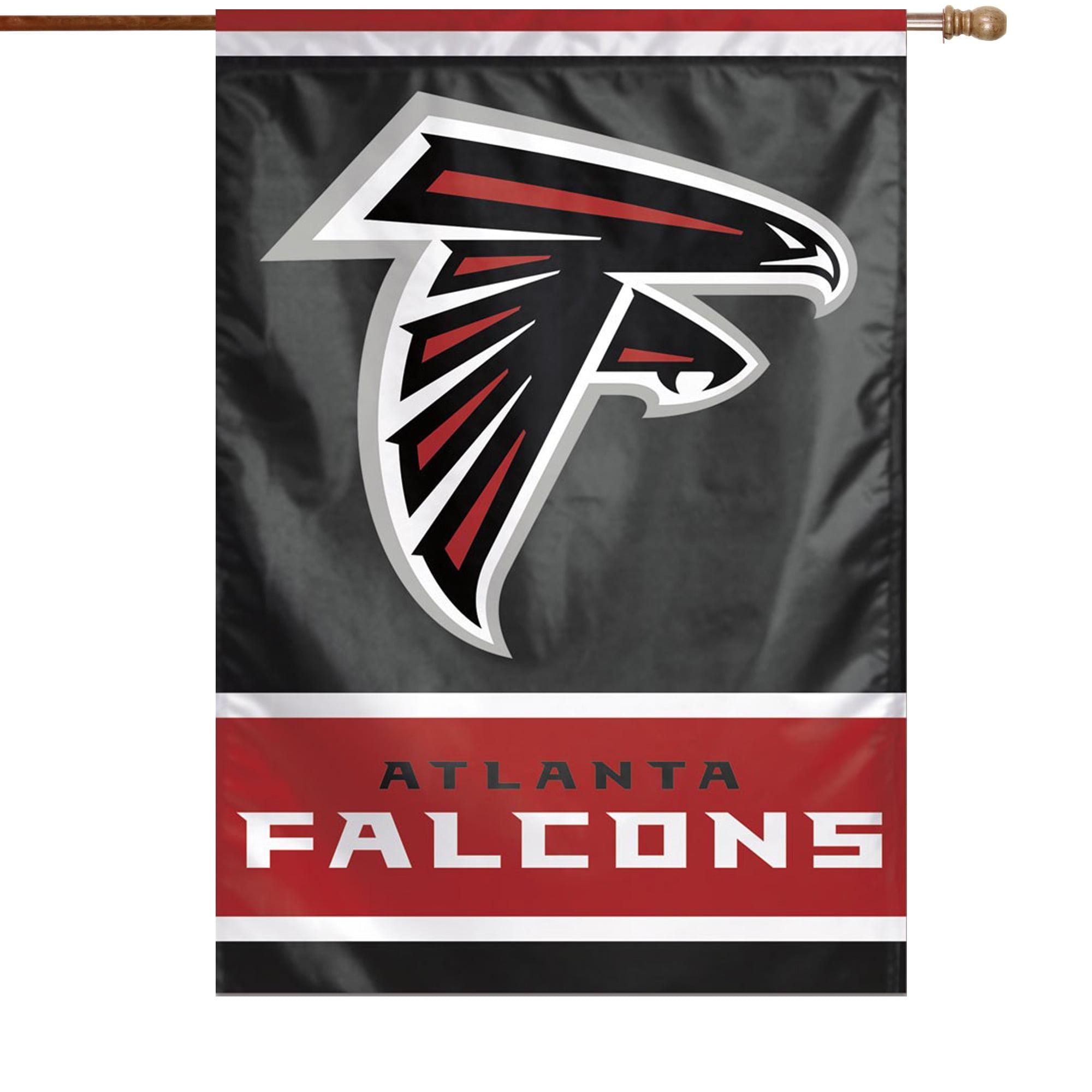 "Atlanta Falcons WinCraft 28"" x 40"" Primary Logo House Flag - No Size"
