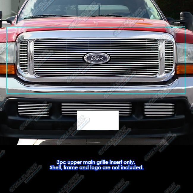 fits 99 04 ford f250 f350 super duty excursion billet grille walmart com walmart com fits 99 04 ford f250 f350 super duty excursion billet grille walmart com