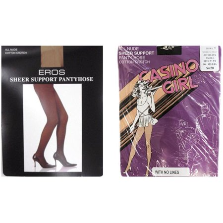 DDI 2126339 Sheer Support Pantyhose - Jet Black Case of 24