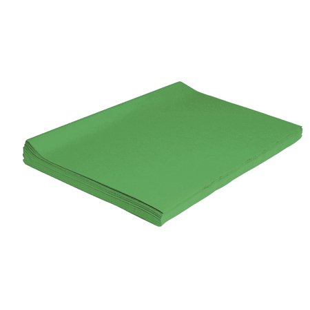 Spectra Deluxe Bleeding Tissue Paper, 20 x 30 Inches, Apple Green, Pack of 24
