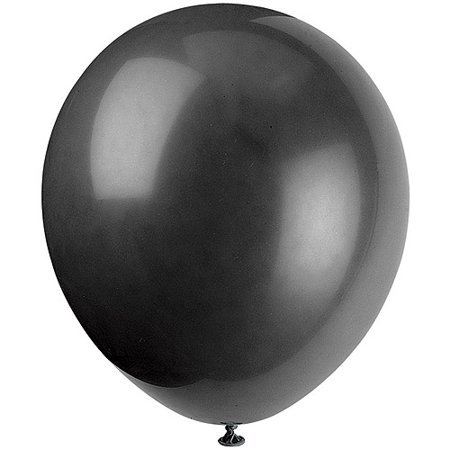 Latex Balloons, 12 in, Black, 72ct](Latex Baseball Balloons)