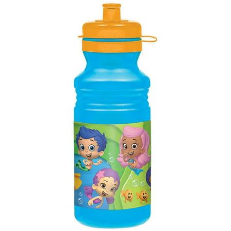 Bubble Guppies 18 oz Water Bottle - Bubble Guppies Favors